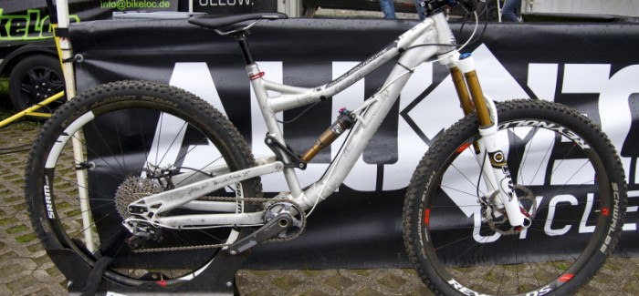 First Ride: Alutech Tofane