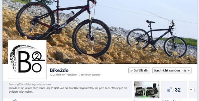 Immer Aktuell dabei sein: Bike2do auf Facebook