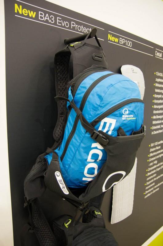 Ergon_09_Der erste Ergon Rucksack mit Rückenprotektor; BA3Evo Protector mit 15+2L Volumen