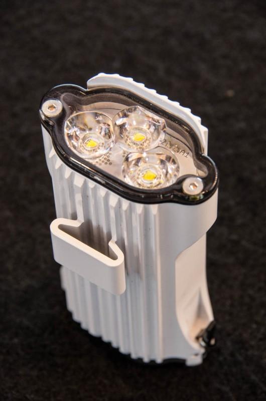 Lezyne_04_Die Elektronik soll dafür sorgen, dass die Lichtmenge über fast die gesamte Akkulaufzeit konstant bleiben soll