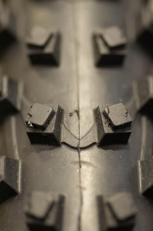 Mit diesem Stollenprofil soll der Reifen bestens für Schlamm geeignet sein