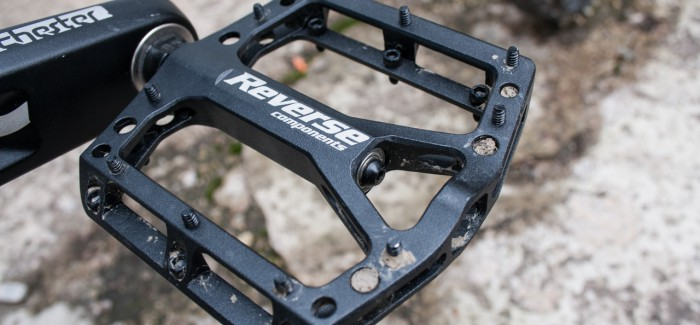 Reverse Black One Flat Pedal